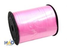 Лента упаковочная,  5мм*450м розовая
