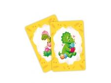 Игра карточная. Мемори для малышей. Динозавры. 30 карточек. 8х12 см. ГЕОДОМ (ISBN нет)