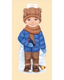"""Плакат """"Мальчик со снегирем"""" 92,334,00"""