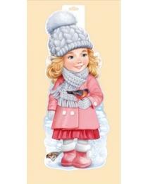 """Плакат """"Девочка со снегирем"""" 92,335,00"""