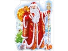 """Фигура вырубная """"Дед Мороз"""" 071.102"""