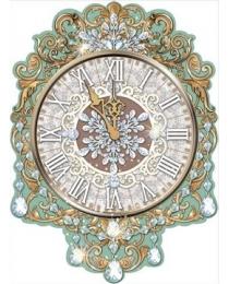 """Плакат """"Новогодние часы"""" 0800915"""