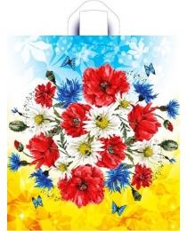 Пакет полиэтиленовый Луговые цветы (44*40 см.) н00117437