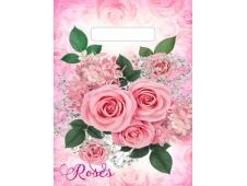 Пакет вырубной Воздушные розы (30*20 см.) н00157183