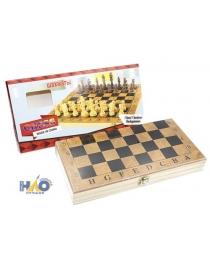 Набор игр 3в1 «шашки, шахматы, нарды» (9518) 1 размер