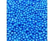 Y  Шарики пенопластовые голубые 12г