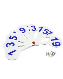 Касса (веер) цифры от 1 до 20 (НР-9359)