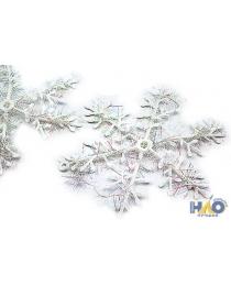 Елочное украшение снежинки d=15 см (3 шт./уп.) Ч01998