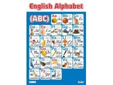 НЛО Плакат А-2 Алфавит английский