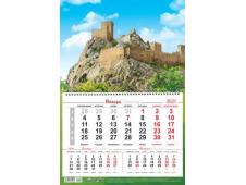Календарь на 1-ой пружине 2021 № 19 Судак Генуэзская крепость
