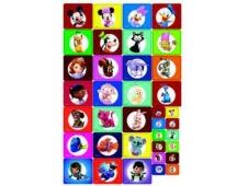 ДИСНЕЙ Набор наклеек для детского сада 9-77-0001