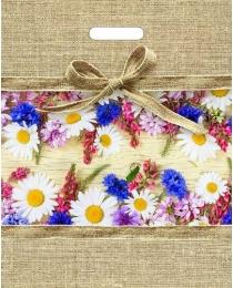 Пакет вырубной Цветочный мешочек (40*31 см)  н00134705