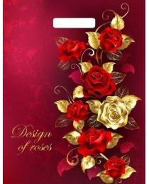 Пакет вырубной Голден роуз (40*31 см)  н00135609