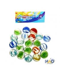 """Стеклянные камушки для дизайна """"Кристальный цветок"""" 100гр d14 645-709"""