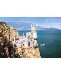 """Пазлы Castorland """"1000"""" пейзаж, арт. С-101160 Крым. Ласточкино гнездо"""