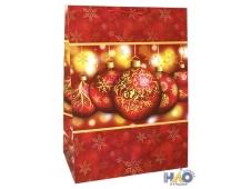 Новый Год 930/931 XXL mix Пакет подарочный лам (410*560*240)