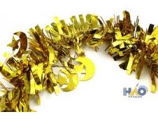 Мишура 2м золото с полумесяцем d-9см (10шт)