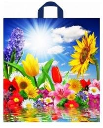 Пакет полиэтиленовый Море цветов (42*38 см.) н00084436