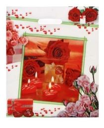 Пакет 36*45+4 Романтика 50шт ВУР01050