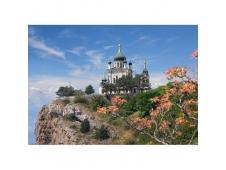 """Пазлы Castorland  """"500"""" B-53155  Крым . Форосская церковь"""
