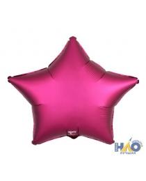 Шар Agura Звезда Гранатовый (21 дюйм, в уп. 25 шт.) 751114