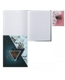 Бизнес-блокнот, А5, 80л BG «КОМПОЗИЦИЯ», книжный переплет, оригинальный блок, ассорти ББ5т80_лм_оф 9523