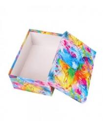 """Одинарная прямоугольная коробка """"Акварель"""" 23,5 х 15,5 х 10 см НПК-7573"""