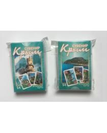 НЛО Карты игральные сувенирные Крым 54 шт (Партенит)