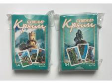 НЛО Карты игральные сувенирные Крым 54 шт (Мисхор-русалка)