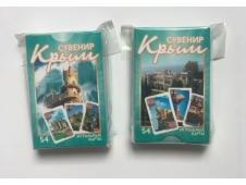 НЛО Карты игральные сувенирные Крым 54 шт (Ливадия-дворец)