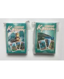 НЛО Карты игральные сувенирные Крым 54 шт (Гурзуф)