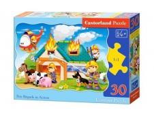 """Пазлы Castorland  """"30"""" сказка, арт. В-03525"""