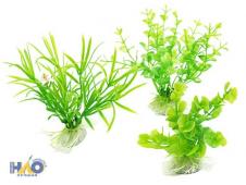 В4683 Б/С Аквариумные растения малые Н12см