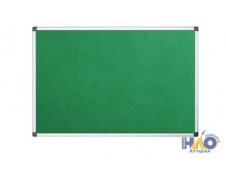 Доска текстильная 60х90 см, алюминиевая рамка, зеленая IWB-801/GN