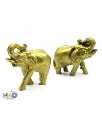 """Статуэтка золотая """"Слон долголетия"""" (9х8х10 см) Т-4928"""