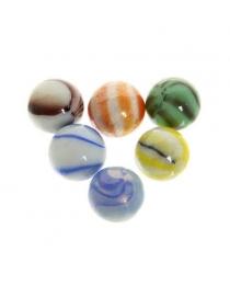 """Стеклянные камушки для дизайна """"Фантазия"""" 100гр d16 645-713"""
