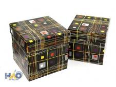 """Коробка/набор 8 шт Куб. """"Абстракция 1"""" 15,5*15,5*105,5см"""