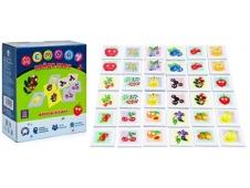 """Игра для развития памяти и внимания с карточками """"Найди пару. MEMORY. ФРУКТЫ ЯГОДКИ"""" (ТМ Ракета) , арт.Р2404"""