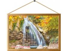 Картина на холсте №00010 Водопад Джур-Джур