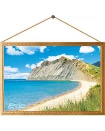 Картина на холсте №00021 Тихая бухта. Мыс Хамелеон