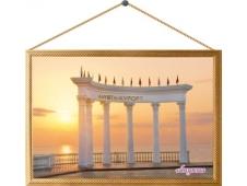 Картина на холсте №00022 Алушта