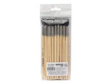 Кисть БЕЛКА круглая №05 (НК-0275) , деревянная ручка, в пакете с европодвесом, кратно 25