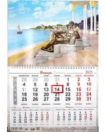Календарь на 1-ой пружине 2021 № 23 Евпатория
