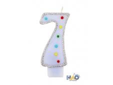 Свечи-цифры для мальчиков 7