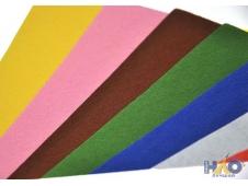 """Фетр А4  в наборе  10 листов 10 цветов, толщина 1мм """"ASMAR"""""""