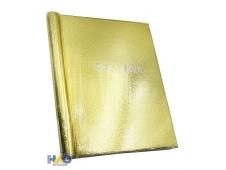 Фотоальбом  на 80 фото  10х15 Блеск,золотой, 20 магнитных листов ФР-5515