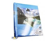Фотоальбом  на 80 фото 10х15 Озеро в горах, 20 магнитных листов ФР-5523