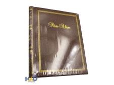 Фотоальбом  на 40 фото 10х15 Семейные моменты,коричневый и золотой, 10 магнитных листов ФР-5533