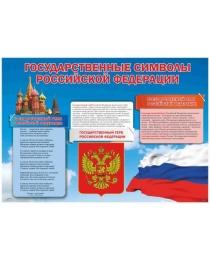 Плакат А-2 Символика Россия