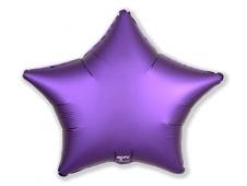 Шар Agura Звезда пурпур (21/53 см., в уп. 25 шт.) 750995